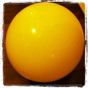 Bola suíça amarela