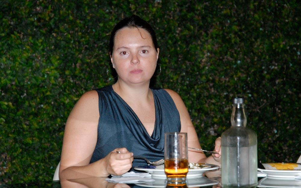 Lia Caldas em maio de 2011.