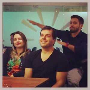 Lia, Luca e Thiago: COO, CEO e CTO da nova startup CrayonStock.