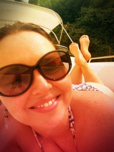 Selfie na Lancha