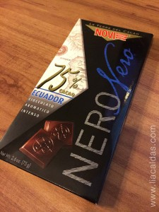 Chocolate Nero Nero - 75% de cacau