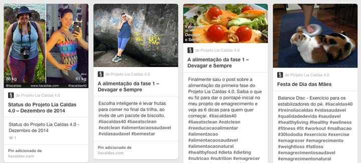 Board do Projeto Lia Caldas 4.0