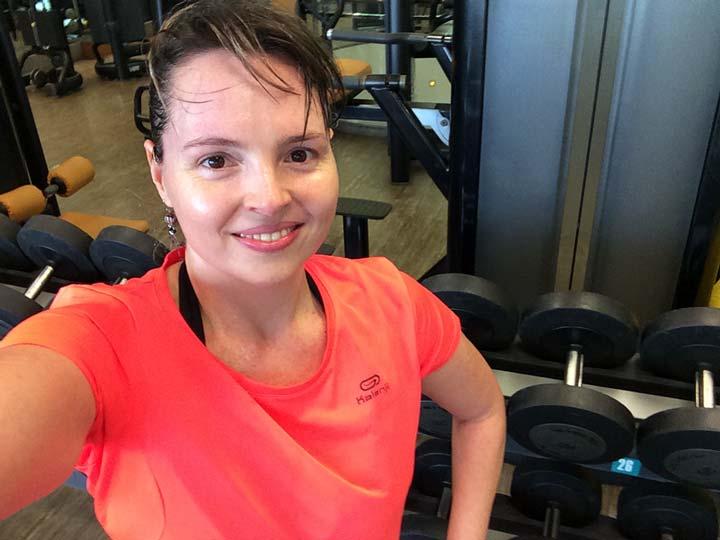 Musculação na Bodytech